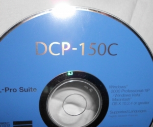 disc to install printer(only the disc on offer)