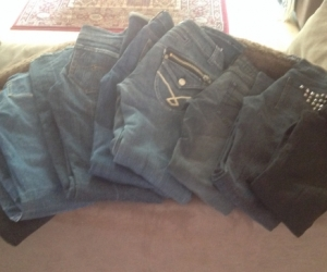 Name brand jeans X 8 size 8