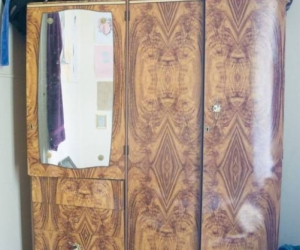 Bis Wardrobe with shelves and drawers