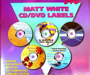 CD/DVD Labels for CD Stomper
