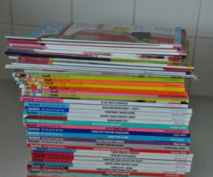 Women's Health, fernwood  and Good Health Magazines