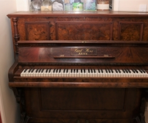 Vintage upright piano - fully working