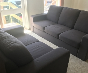 Sofa set ,single bed mattress,cabinet ,