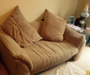 two two-seater sofas to give away