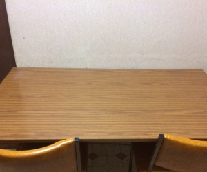 Kitchen dining table with 3 chairs