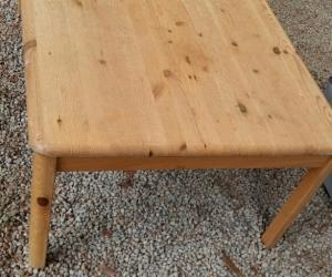 Ikea Solid Pine Coffee Table
