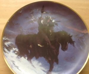 Franklin mint limited edition plate
