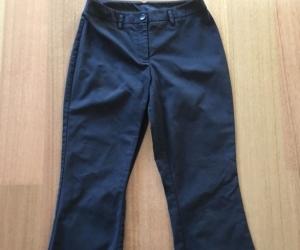 Size Aus 8 USA 4 Retro Vintage Country Road Women Pants Casual Ladies Black Pant