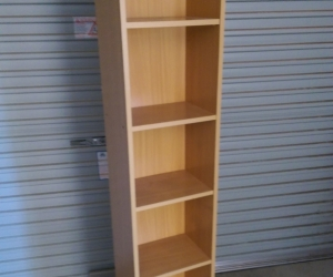 Tall bookcase/shelves
