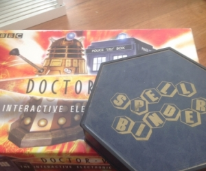 Games Dr who etc