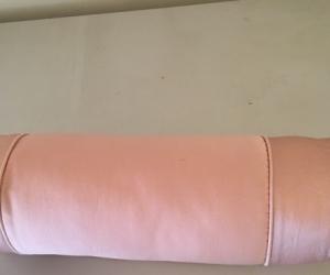 Pink bolster cushion
