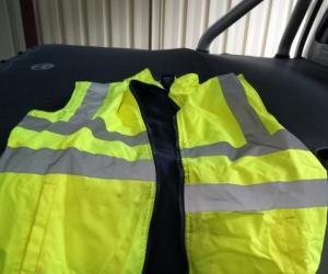 Free safety jacket men's large
