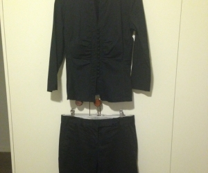 Size 10 Black shirt and trousers