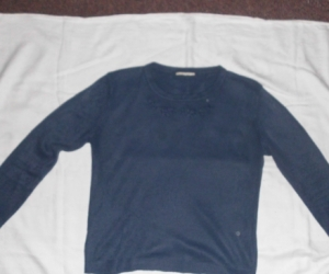 LADIES BLUE JUMPER