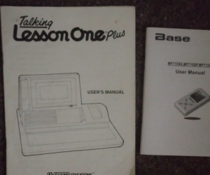 OLD TECH MANUALS