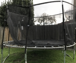 Large trampoline (not suitable for jumping)