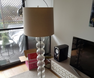 West Elm floor lamp (not working)
