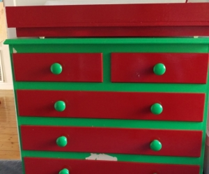 Change table chest of drawers