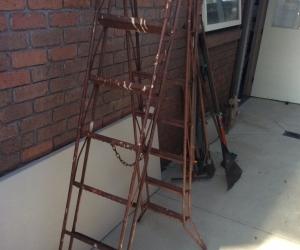 Steel A frame ladder