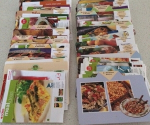 Recipe cards & dividers.