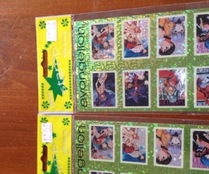 Neon Genesis Evangelion Stickers