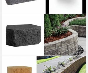 Eziwall Concrete retaining wall blocks