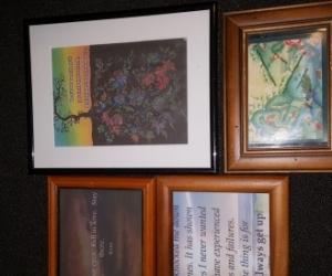 Inspirational quotes Frames