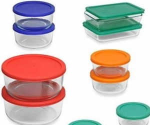 Food containers - glass or plastic