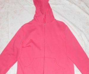 PINK HOODED JACKET