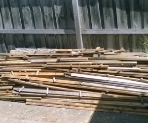 Free Timber / Firewood Recycled Untreated Pine in Box Hill North
