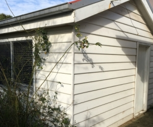 FREE WEATHERBOARDS and all Building material on 7 year old bungalow