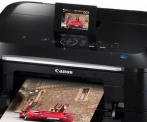 Slightly wonky high quality inkjet printer