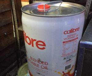 Used vegetable oil for bio diesel