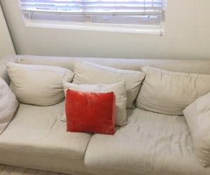 3 SEATER FREE LINEN COUCH
