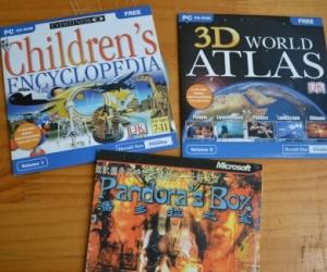 Kids computer discs