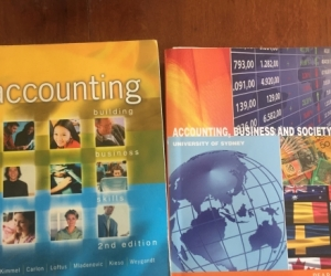Accounting textbooks