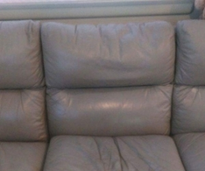Leather lounge 3 seater