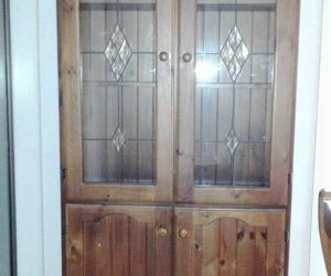 Free display cabinet - excellent condition