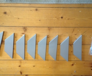 Ikea wall shelf brackets