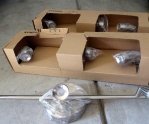 3x triple spotlight sets - brand new Ikea brand