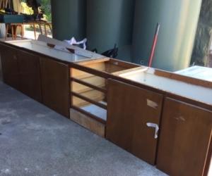 Kitchen Cabinet 1950's