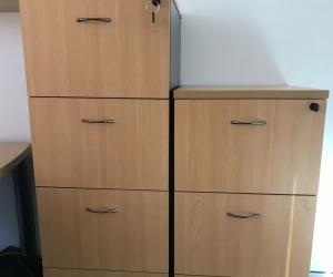 Filing Cabinet - Wood
