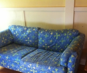 Blue Sofa/ Couch