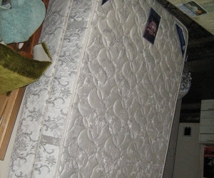 Bed- Double bed mattress and base