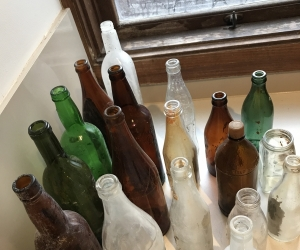 Old bottles too good to throw out.