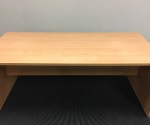 Office desk - wood laminate
