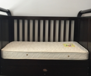 Boori Cot and mattress