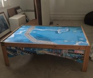 Imaginarium kids train table
