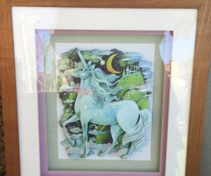 Framed Unicorn - Paper Tolle