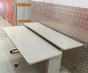 Adjustable desk work station
